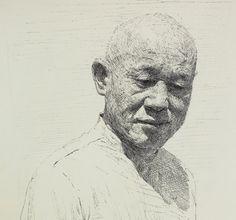 "Amazing Artist Sam Kim (Korean: 1981) - ""Dad"" - Artist's father."