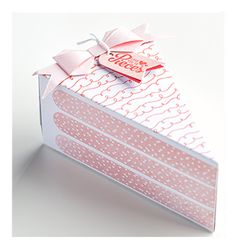 Stampin' Up! - Love You to Pieces Cake Slice