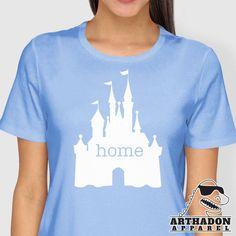 The best place on Earth!  Have a magical day :) ---------------------------------------------------------------  We also do custom shirts for any occasion.  All shirts are premium heat press vinyl.  All sizes are unisex cut.  See Images for Colors and Sizes