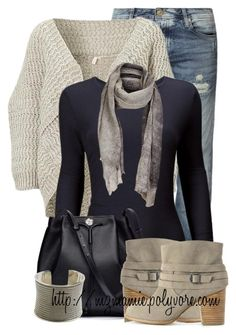 """Untitled #2682"" by mzmamie ❤ liked on Polyvore featuring moda, Jack & Jones, Comptoir Des Cotonniers, The Row y Splendid"
