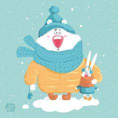 Просмотреть иллюстрацию Где же снег?:) из сообщества русскоязычных художников автора Маргарита Кухтина в стилях: Детский, нарисованная техниками: Растровая (цифровая) графика.