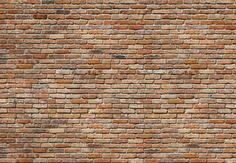 Traditional brick wall photo background 1178 bricks for Poster mural 4 murs
