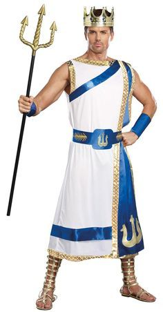 Adult Poseidon Costume from Buycostumes.com