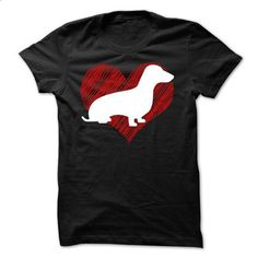 I Love My Dachshunds on Red Heart Tee - #hoodie style #harry potter sweatshirt. MORE INFO => https://www.sunfrog.com/Pets/I-Love-My-Dachshunds-on-Red-Heart-Tee.html?68278