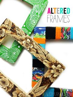 Picture frames are one of my favorite things to transform. They are affordable, available everywhere and really easy to alter! Here are a...