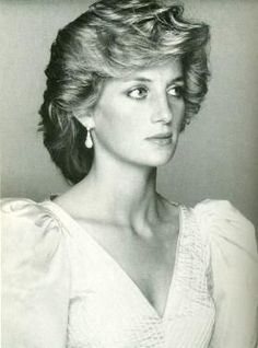 Princess Diana,looking strained but beautiful