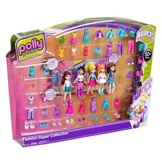Polly Pocket Super Fashion Collection