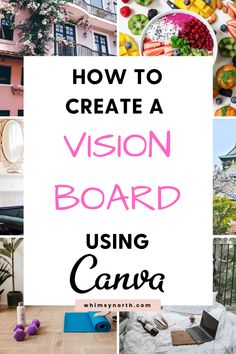 Craft Business, Business Tips, Online Business, Digital Vision Board, Creating A Vision Board, Board Ideas, Happy Life, Finding Yourself, Boards