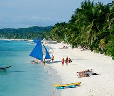 One of world's best islands: Boracay, in the Philippines, may be one of the last little-known Asian beach getaways. The sandy-shored speck is accessible via a hour-long flight from Manila to Caticlan, followed by a 10-minute ferry ride.