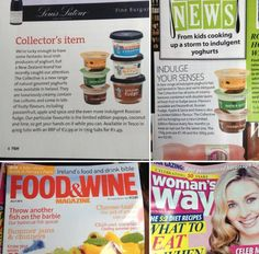 Chuffed to be spotted in Food & Wine and Woman's Way!