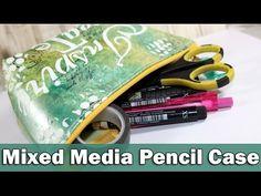 Mixed Media pencil case