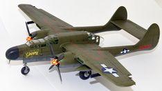 Hersteller: HobbyBoss| Sparte: Historische Flugzeuge | Katalog Nummer: 87261 - US P-61A Black Widow Maßstab: 1:72 | Einzelteile: 91 | Länge: 210mm | Spannweite: 279mm Black Widow, Scale Models, Airplane, Fighter Jets, Aircraft, World, Creative, Locomotive, World War Two