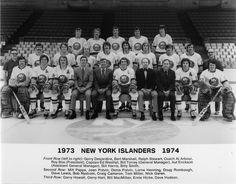 The 1973-74 New York Islanders.