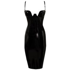 Couture Latex Paris Cup Pencil Dress   Atsuko Kudo