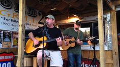 "Alan Hartzell & Chad Parker cover ""Tupelo Honey"" at Old 27 Grill 3.29.14"