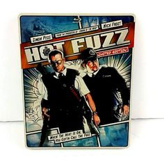 HOT FUZZ Limited Blu-Ray SteelBook Simon Peg Nick Frost Comic OOP Sold Out Rare! | DVDs & Movies, DVDs & Blu-ray Discs | eBay!