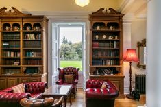 Discover the beauty of Northumberland and our stunning Doxford Hall Spa, the perfect place for a relaxing and memorable stay. Book your room online today. Classic Library, Fine Dining, Luxury Travel, Perfect Place, How To Memorize Things, Spa, Mansions, Bedroom, Mansion Houses