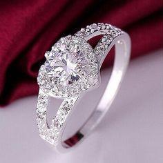 Cadeau De Mariage Rond Cut Swiss Blue Topaz Gemstone Woman silver ring Taille 6-10
