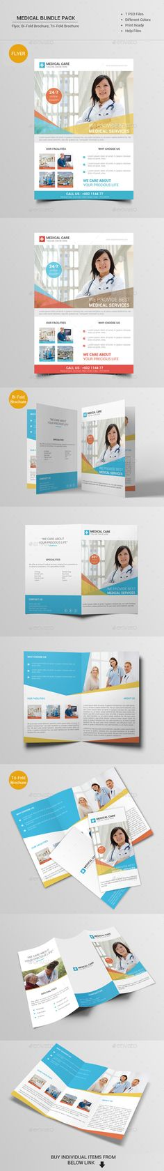 Medical Bundle Pack Template #design #printdesign Download: http://graphicriver.net/item/medical-bundle-pack/12100319?ref=ksioks