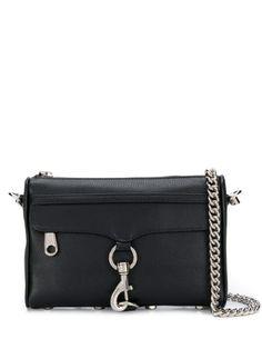 REBECCA MINKOFF HOOK DETAIL CROSSBODY BAG. #rebeccaminkoff #bags #shoulder bags #leather #crossbody Dog Clip, Designer Crossbody Bags, Quilted Leather, Black Cross Body Bag, Leather Shoulder Bag, Shoulder Bags, Luxury Branding, Rebecca Minkoff, Satchel