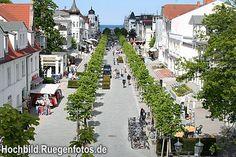 Ostseebad Binz - neue Hauptstrasse  (Foto: Mirko Boy)