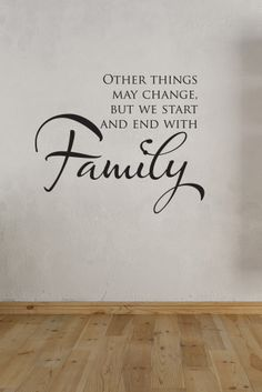 Decals That Dazzle - Family Wall Decal $15.00