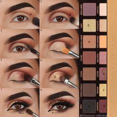 Beautiful @glamorous_reflections Soft Glam Palette ✨Swipe left for tutorial ✨#abhsoftglam