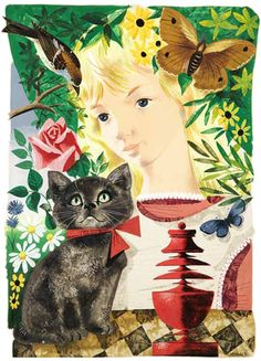 Leonard Weisgard «Alice in Wonderland»  Иллюстратор Leonard Weisgard  Автор Lewis Carroll  Сказки «Алиса в стране чудес», «Алиса в Зазеркалье»  Страна США  Год издания 1949  Издательство Harper & Brothers