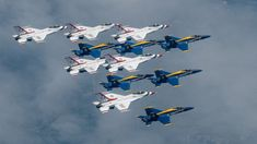 Midwest America Strong Blue Angels/Thunderbirds Flight Delayed by Weather, Draws Critics. – The Aviationist Navy Petty Officer, Us Navy Blue Angels, Air Image, Delta Wing, F 16, Air Show, Military Aircraft, Fighter Jets, Fighter Aircraft