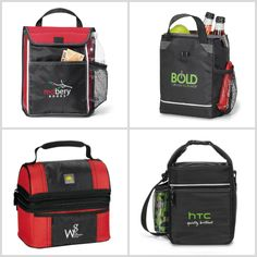 Lunch Coolers from HotRef.com #lunchcooler #cooler #promotionalproduct Lunch Cooler, Whats For Lunch, Coolers, Promotion, Company Logo, Bags, Viajes, Handbags, Bag