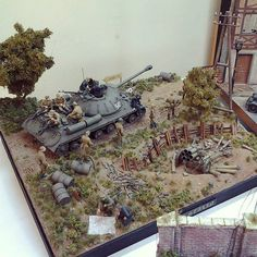 IS-3 diorama