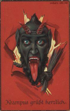 Krampus Postkarten « oskars ARCHE