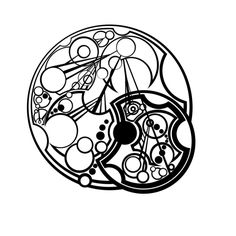 """""""In the darkest times, hope is something you give yourself"""" Gallifreyan  ~sirkles (deviantart)"""