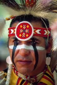 Cherokee war paint