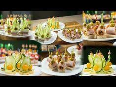 Szybkie przekąski – tortillowe wariacje – Fajerki i smak Brunch, Organic Fruit Snacks, Canapes Recipes, Elegant Appetizers, Finger Food Appetizers, Food Decoration, Polish Recipes, Antipasto, Party Snacks