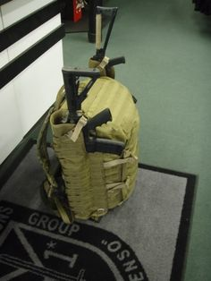 Attaching a rifle to a pack - AR15.Com Archive