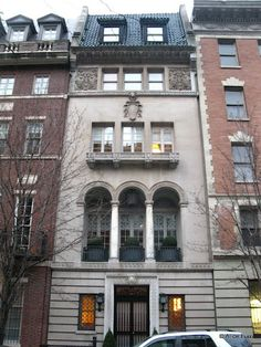 Miranda's Townhouse:  129 East 73rd Street and Lexington Avenue, Manhattan