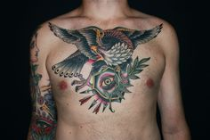 GREZ EAGLE TATTOO