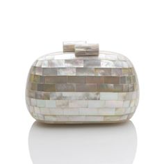 Kayu mother-of-pearl clutch. Perfect for a summer wedding!