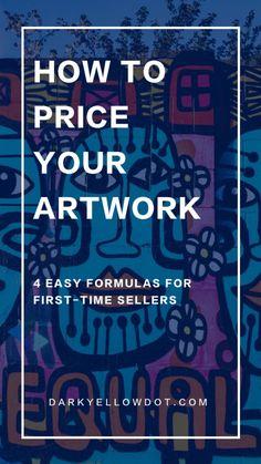Selling Art Online, Online Art, Ways To Get Money, Jobs In Art, Art Articles, Sell My Art, Artist Life, Art Party, Art Blog