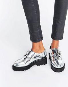 ASOS MAGNETIC Monk Flat Shoes