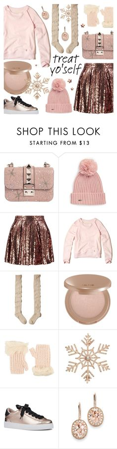 """""""Treat Yo'Self! :)"""" by alexandrazeres ❤ liked on Polyvore featuring Valentino, Calvin Klein, Boohoo, Hollister Co., tarte, UGG, John Lewis, Nine West, Kevin Jewelers and Christmas"""