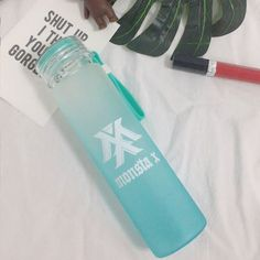 MONSTA X Frosted Gradient Water Bottle Collection