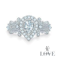Unmistakably elegant. This belongs on my finger!