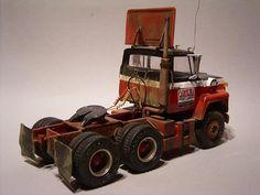 Big Ford Trucks, Model Truck Kits, Freight Truck, Boats, Christian, Models, Vehicles, Trucks, Miniatures