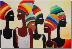 plantillas de cuadro de africanas
