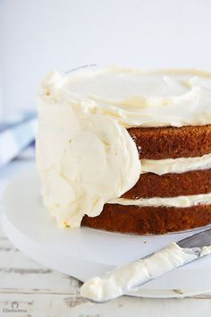 Incredible Carrot Cake with Cream Cheese Frosting | Cleobuttera
