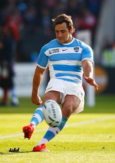 Footy Players — Santiago Cordero and Nicolas Sanchez of Argentina Rugby Sport, Rugby Men, Sport Man, Rugby League, Rugby Players, Football Players, Pumas, Argentina Rugby, Australian Football