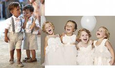 Dicas e looks das Daminhas e Pajens {Desperate Bride Wife} http://www.dropsdasdez.com.br/drops-tips/dicas-e-looks-das-daminhas-e-pajens/