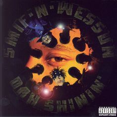 Favorite Hip Hop albums of all time # 10.    A more sinister twist on Roy Ayers' 1971 album, He's Coming, the artwork for Smif-N-Wessun's Dah Shinin' fit the album's grimy, Brooklyn-centered content, like a set of brass knuckles.